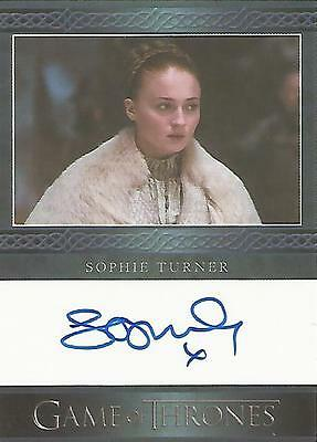 "Game of Thrones Season 5 - Sophie Turner ""Sansa Stark"" Autograph Card"