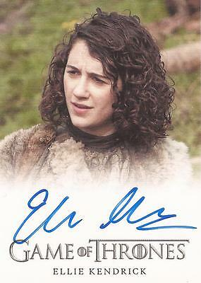 "Game of Thrones Season 4 - Ellie Kendrick ""Meera Reed"" Autograph Card"