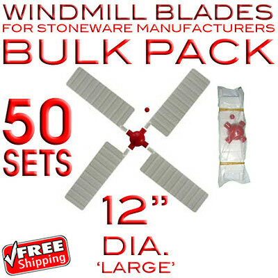"""STONE WINDMILL BLADES - FOR MANUFACTURERS (50 x 12"""")"""
