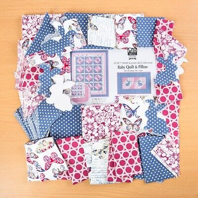 FabScraps Serenity Baby Quilt & Pillow Kit - Bold
