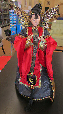 "Sandy Dolls Angelic Collection Mei Ling Chinese Angel 19"" Tree Topper Doll"