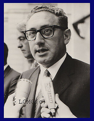 Fotografia Press Photo Vintage 1969 Henry Kissinger A Parigi - Diplomazia