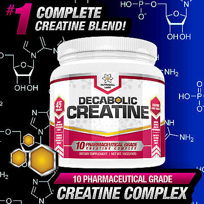 Decabolic Creatine- Strongest Muscle Booster Legal Anabolic With No Steroids