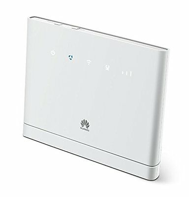 Huawei Unlocked B315 4G/ LTE 150 Mbps Mobile Wi-Fi Router UK 3 Pin - White
