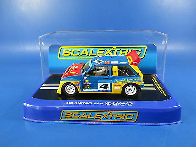 Scalextric C3494 Mg Metro 6R4 Lawrence Gibson British Rallycross, 1/32, Mib!