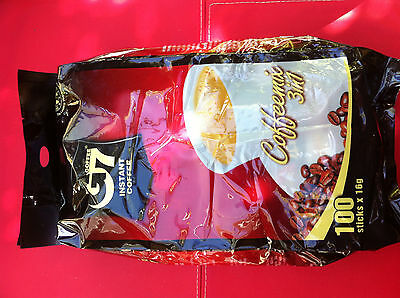 200 sachets x 16g Vietnamese Trung Nguyen G7 Instant Coffee 3 in 1 Coffeemix
