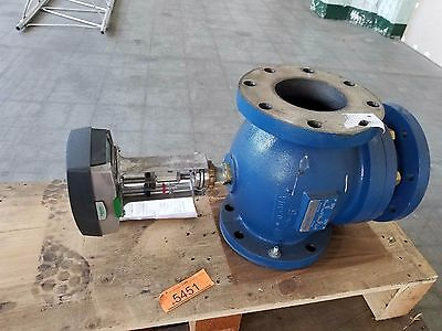"5"" Schneider 3-Way Mixing Diverting Valve Flanged M1500A Linear Valve Actuator"