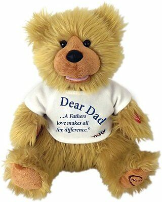 """Chantilly Lane 12"""" Noah Bear For Dad A fathers love makes all the difference"""