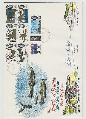 GB 1965 Battle of Britain Signed Douglas Bader Biggin Hill  First Day Cover
