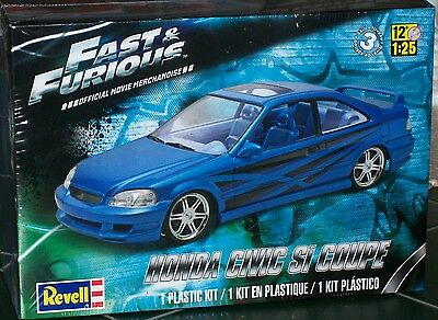 Revell Monogram Fast and Furious HONDA CIVIC Si Coupe  Model Kit 1/25