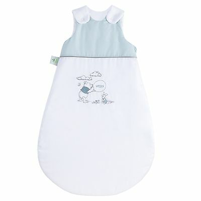 Disney by Julius Zöllner Schlafsack mit Applikation 70 cm Hello Pooh mint