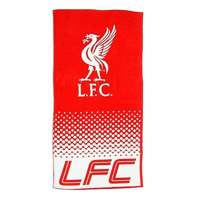 Liverpool FC fade beach towel - new