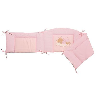 Easy-Baby Nestchen für Kinderbett 70x140 cm Sleeping bear rose 420-82