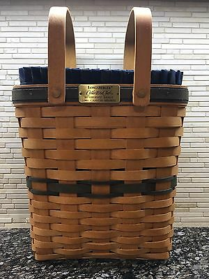 Longaberger Collectors Club 1996 Charter Membership Basket Combo Displayed Only