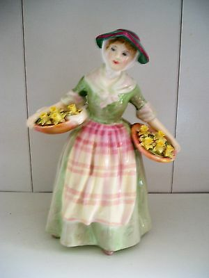 Lovely Royal Doulton Figurine - Hn 1712 Daffy Down Dilly