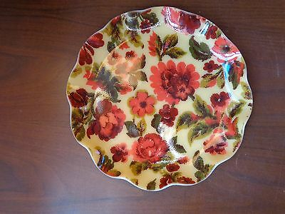 """Vtg 9"""" plate tray FAB Product #162 Hardy-Glenwood handcrafted Barrie Canada"""