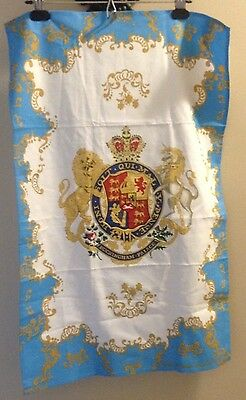 Buckingham Palace Tea Towel Coat Of Arms Royal Crest The Royal Collection