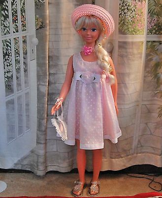 """Mattel My Life Size BARBIE Large Doll Blonde Hair Blue Eyes 38"""" Tall with EXTRAS"""