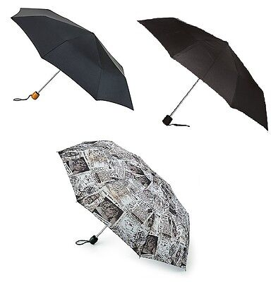 Fulton Stowaway High Quality Deluxe Compact Smooth Handle Umbrella