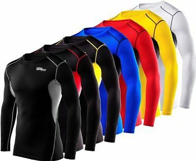 Men's TCA HyperFusion Compression Armour Base Layer Top Thermal Under Gear