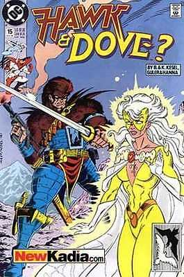 Hawk and Dove (1989 series) #15 in Fine + condition. FREE bag/board