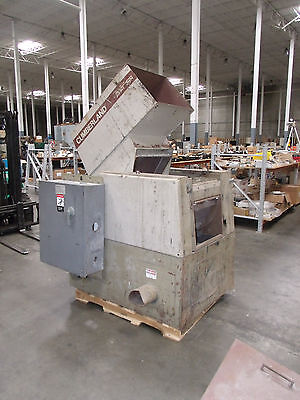 Cumberland Model 584 25 Hp Grinder / Granulator   30 Hp GE Motor with Controls