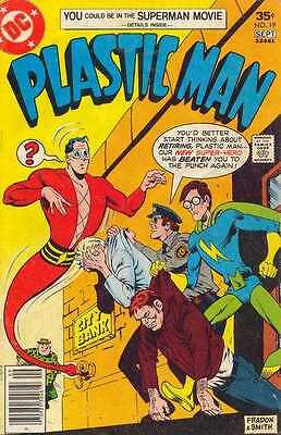 Plastic Man (1966 series) #19 in Fine + condition. FREE bag/board