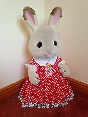 Giant 82cm Sylvanian Families 'Freya' Chocolate Rabbit