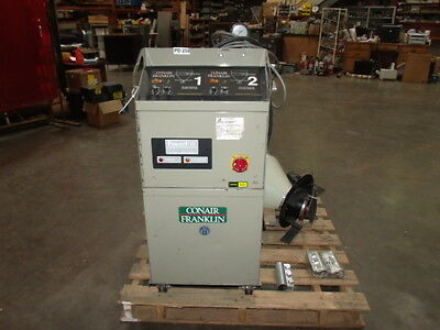 Conair Franklin Dual Vacuum Conveying System Controls & PumpModel Powerful PF-3