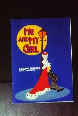 Me And My Girl Programme Adelphi Theatre London
