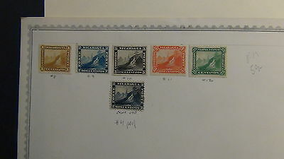 Nicaragua  stamp collection on Minkus pages to '84