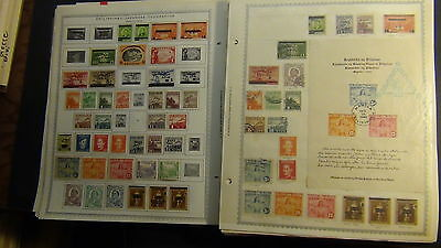 Philippines stamp collection on Minkus pages  to '90