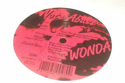 Note Abuse ‎– Wonda        1994   NO RESPECT RECORDS..GERMAN TRANCE!!