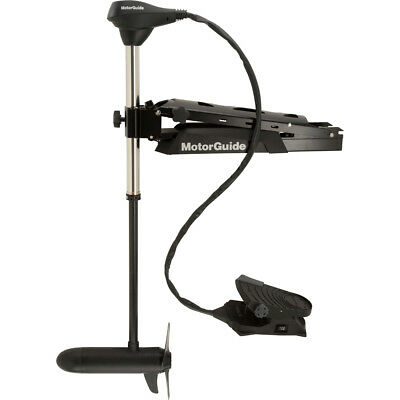 MotorGuide X5-105FW Foot Control Bow Mount Trolling Motor - 105lb... [940500050]
