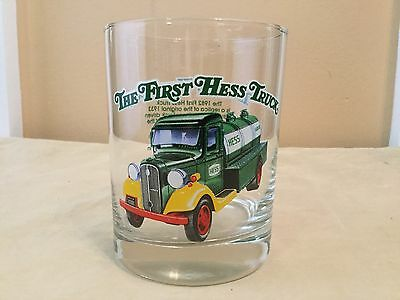 The First Hess Truck Glass Tumbler 1996 NEW