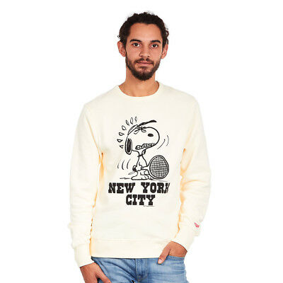 TSPTR - New York Sweatshirt White Pullover Rundhals