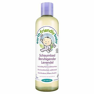 Lansinoh Earth Friendly Baby Schaumbad Beruhigender Lavendel