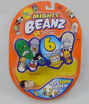 Mighty Beanz Original Series 1 New in Box Package 6 Beans Pack Spin Master