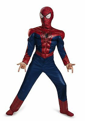 The Amazing Spider-Man 2 Child's Size 8 Costume Halloween Dress-Up Jumpsuit