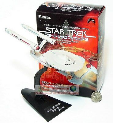 Furuta Star Trek 2 USS Enterprise NCC-1701 Spaceship Display Model ST2_11+B