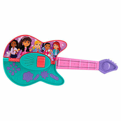 Fisher-Price Dora and Friends Play It Two Ways Guitar Acoustic & Electric Guitar