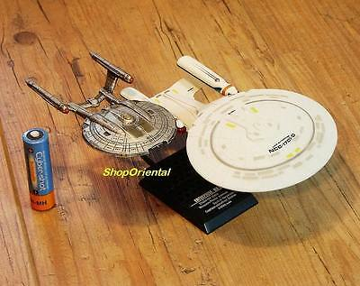 F-TOYS STAR TREK USS Enterprise NCC-1701-D & NX-01 Spaceship Model FT_ST_1+2