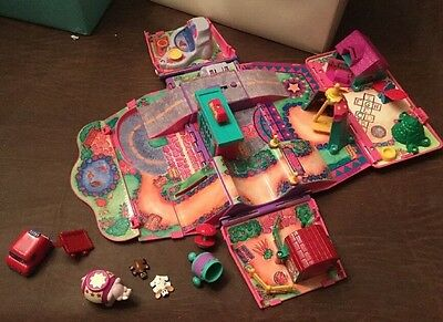 Pound Puppies Van Circus Playground Playset With Pets And Car