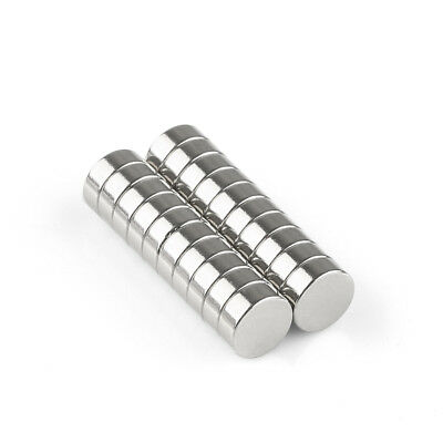 New 20 x Super Strong Round Disc Rare Earth Neodymium Magnets 8 x 3mm N50