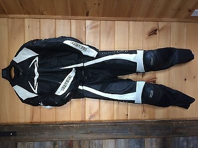 "2Pc ""Probiker"" Motorcycle Leather Racing Suit"