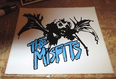 Misfits Sticker Collectible Rare Vintage 90's Metal Live Danzig