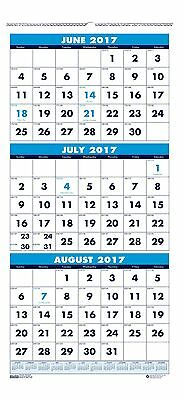 House of Doolittle 2017 - 2018 Three-Month Academic Wall Calendar 8 x 17 Inch...