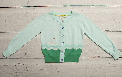 MATILDA JANE Hello Lovely Lake Queen Swan Cardigan Sweater sz 4