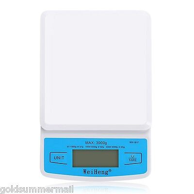 0.1G/3KG WeiHeng WH-B17 Electronic Scales Kitchen Food Weighing Tool+LCD Digital
