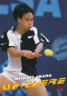 1997 Intrepid Tennis Trading Card #2 Michael Chang USA